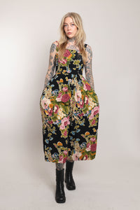 80s Taupe Hooded Coat