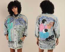 80s Hand Painted Jacket