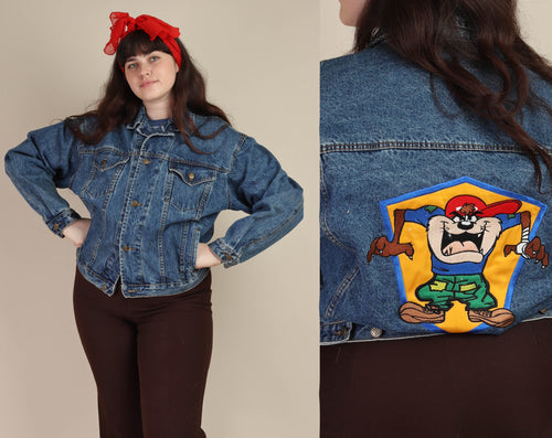 90s Taz Looney Tunes Jacket