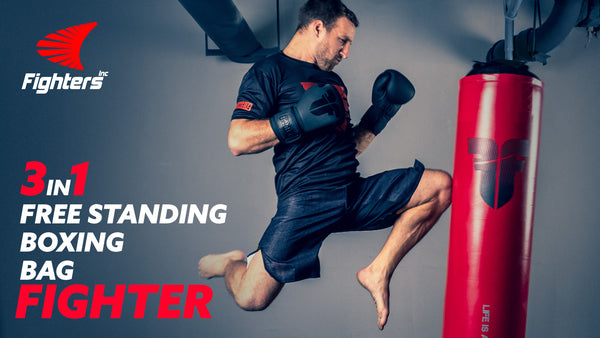 Free Standing Bag Fighter 3in1
