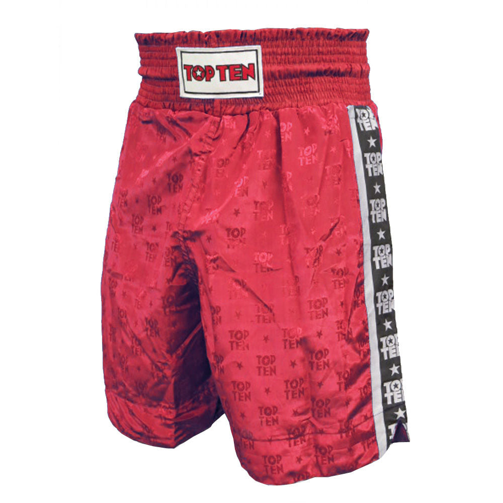 Red Boxing Shorts Top Ten - red