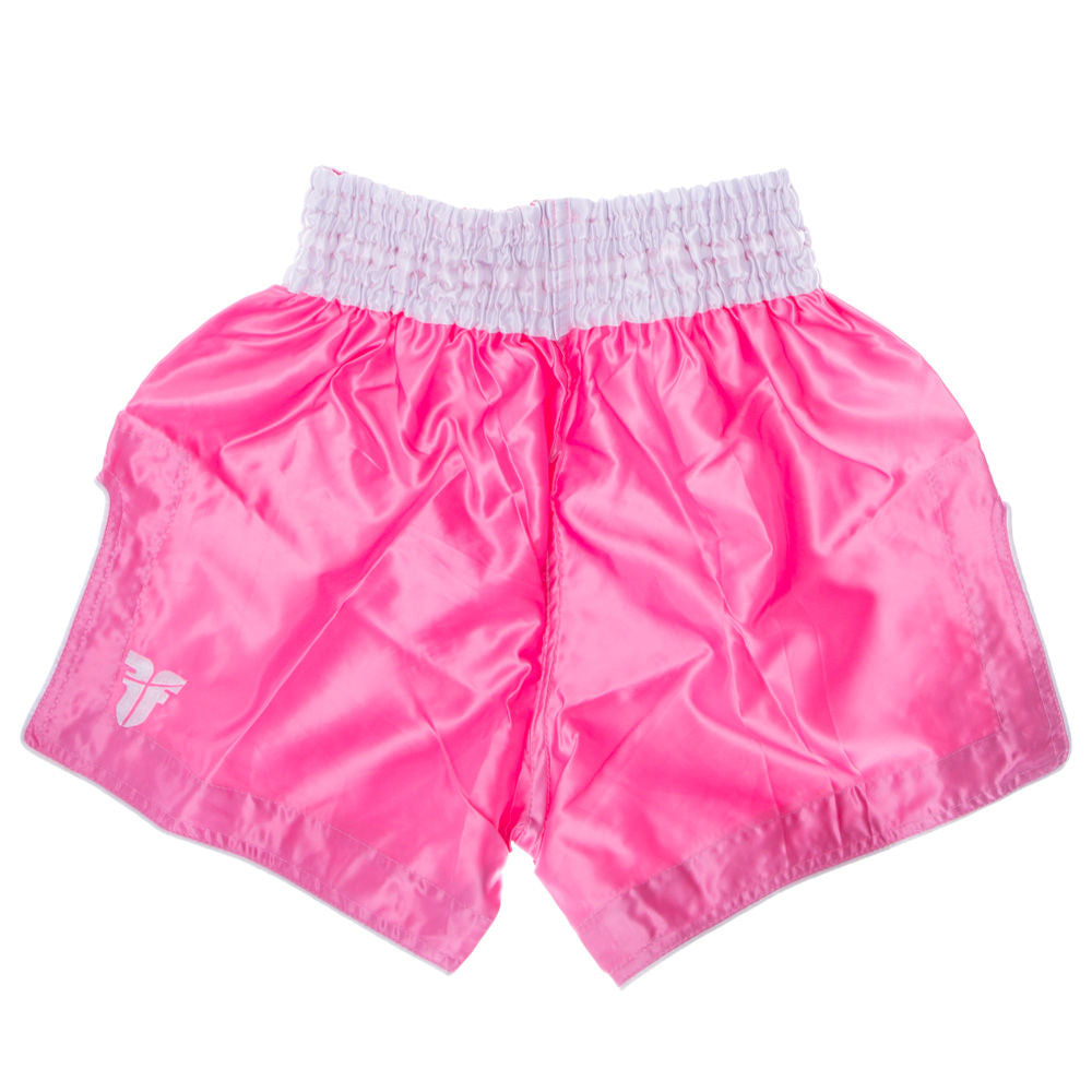 Fighter Thai Shorts FACE - pink/white