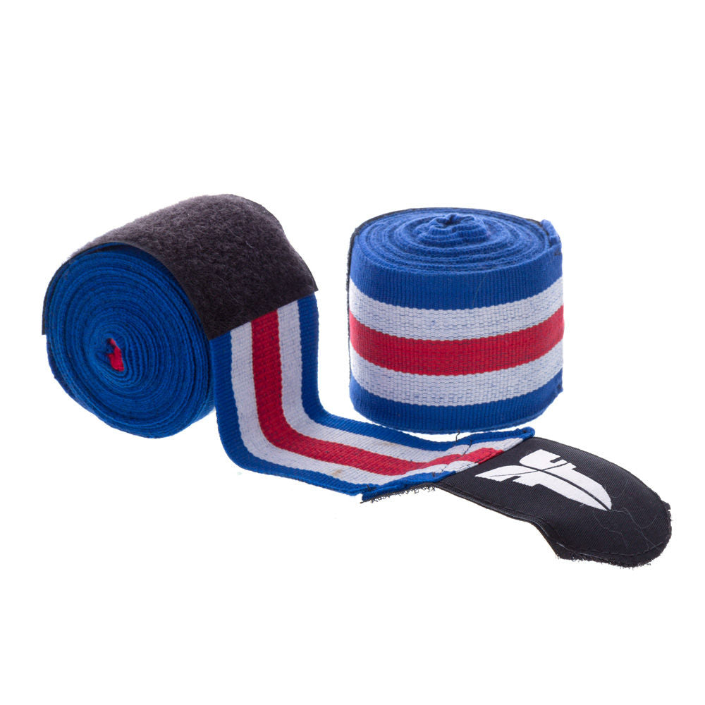Fighter Patriot Tricolor Polycotton Handwraps