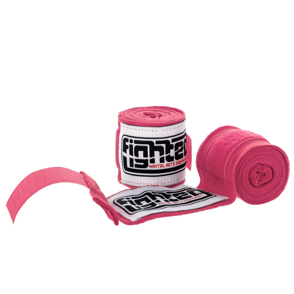 pink boxing bandages