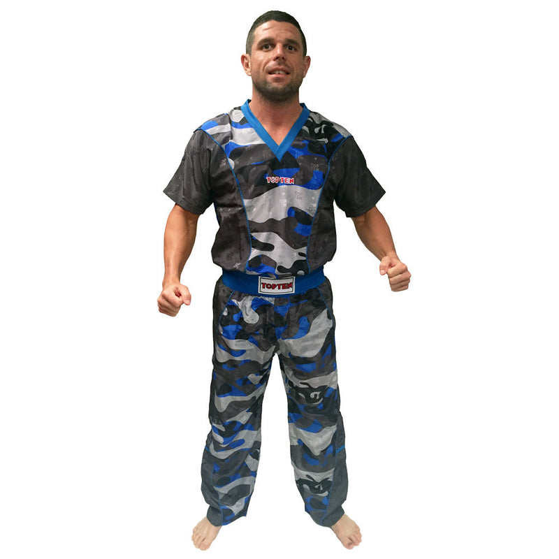 Top Ten Energy Fighter uniform -  blue CAMO