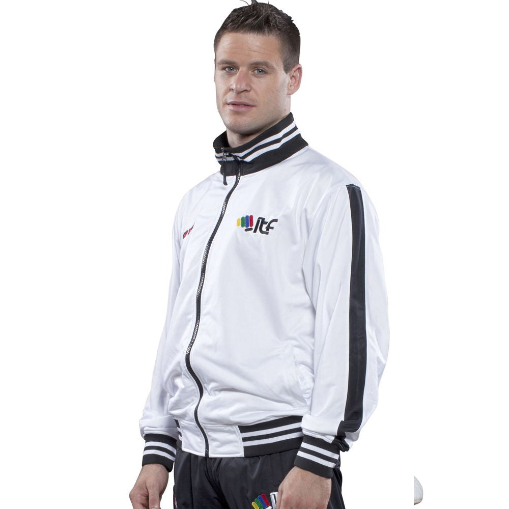 TOP TEN ITF Tracksuit - white/black
