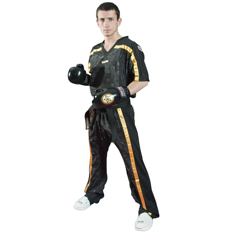 Top Ten Mesh uniform 1605 model - black/gold