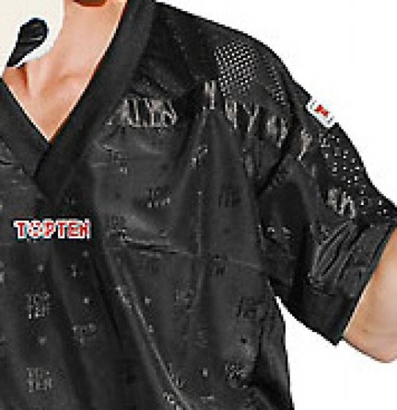 Top Ten Mesh uniform 1605 model - black