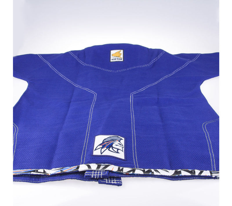 Top Ten Brazilian Jiu Jitsu Uniform Mohicans - Blue