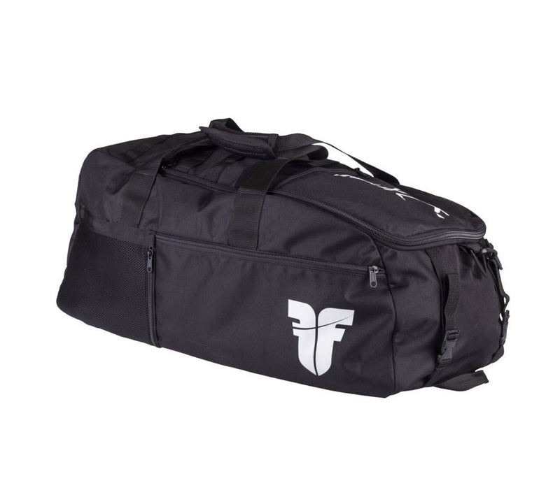 Sports Bag FIGHTER LINE XL calligraphy - black