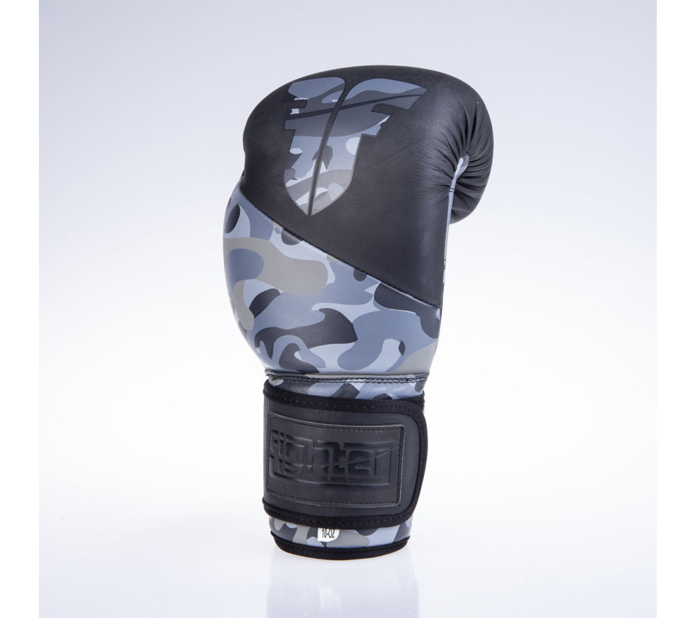 Fighter SPLIT Boxing Gloves - black/camo