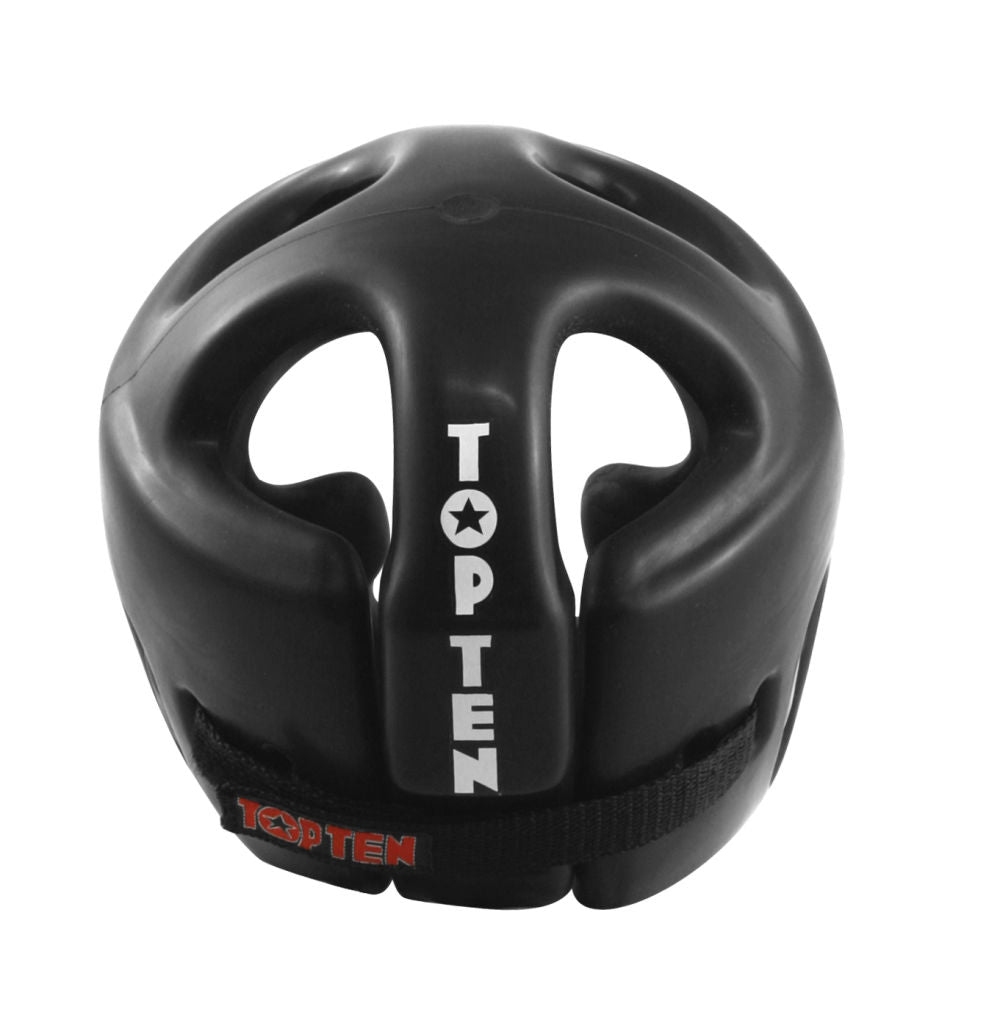 Top Ten Full Protection Sparring Headguard - black