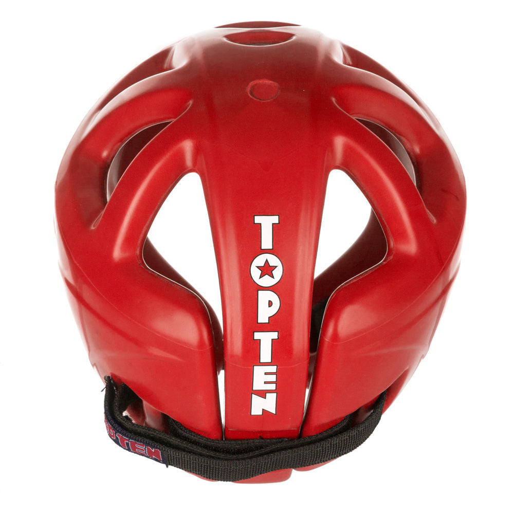 Top Ten Red Avantgarde Head Guard - red