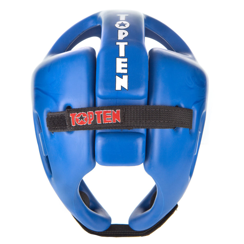 Top Ten Blue Competition Fight Head Guard - blue