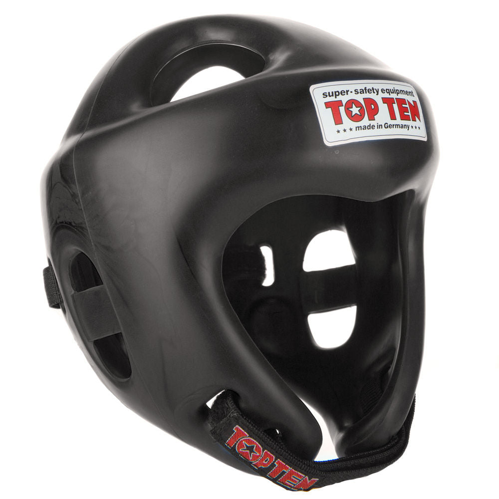 Top Ten Black Competition Fight Head Guard