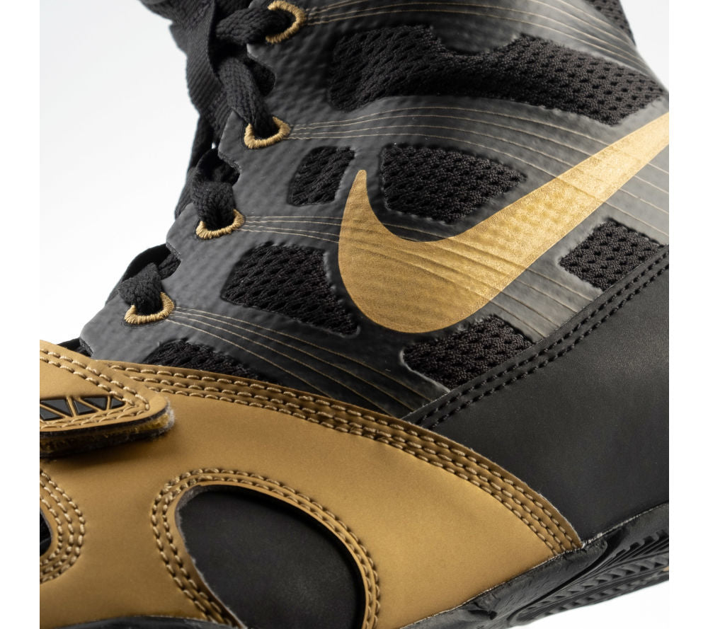Boxing shoes NIKE HyperKO - gold/black