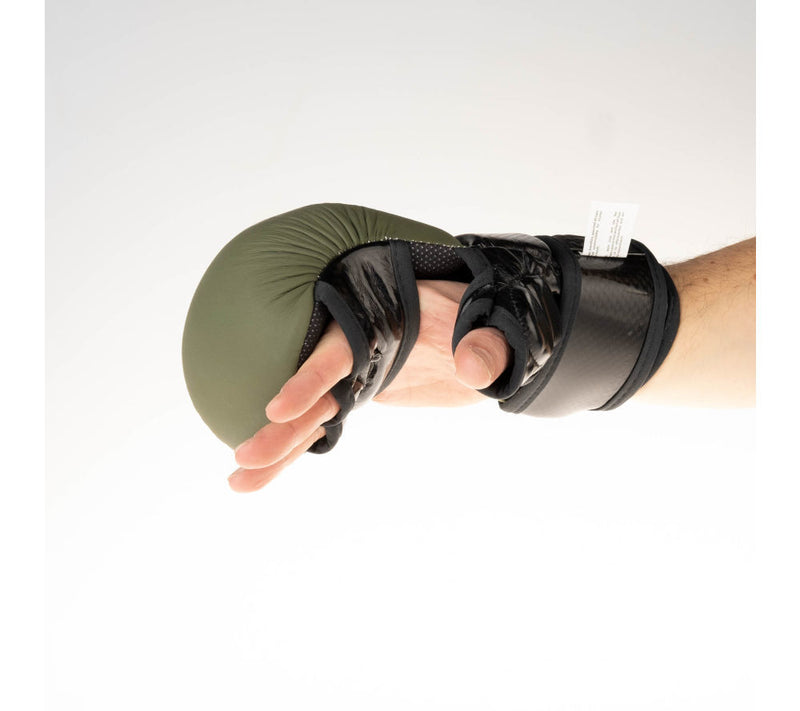 Fighter Training MMA Gloves - khaki/black