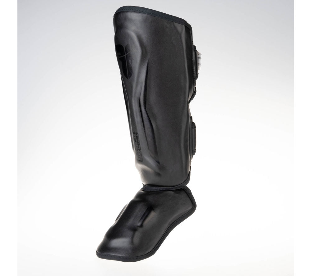 Fighter Shinguards Thai Ergo - black