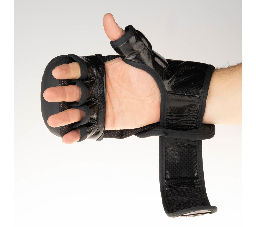 Fighter Training MMA Gloves - black logo