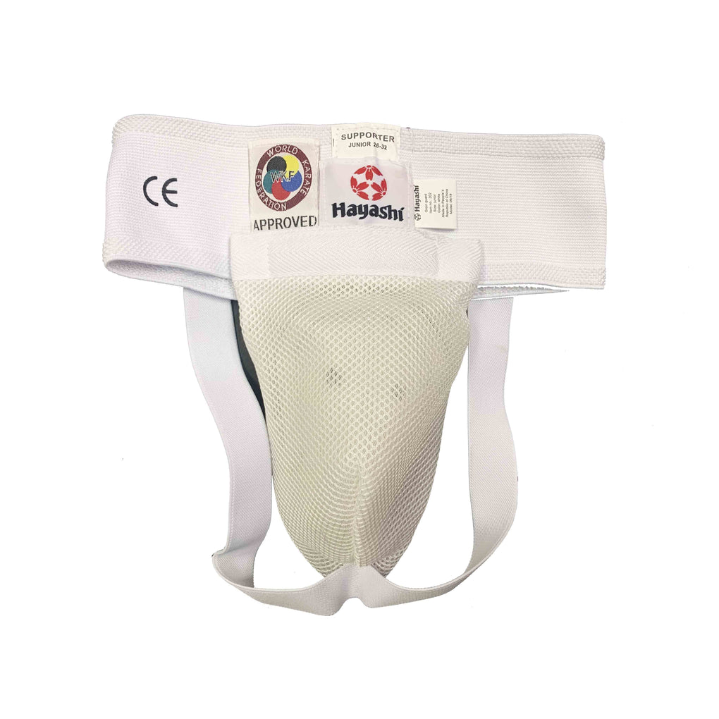 Groin protector WKF approved - white