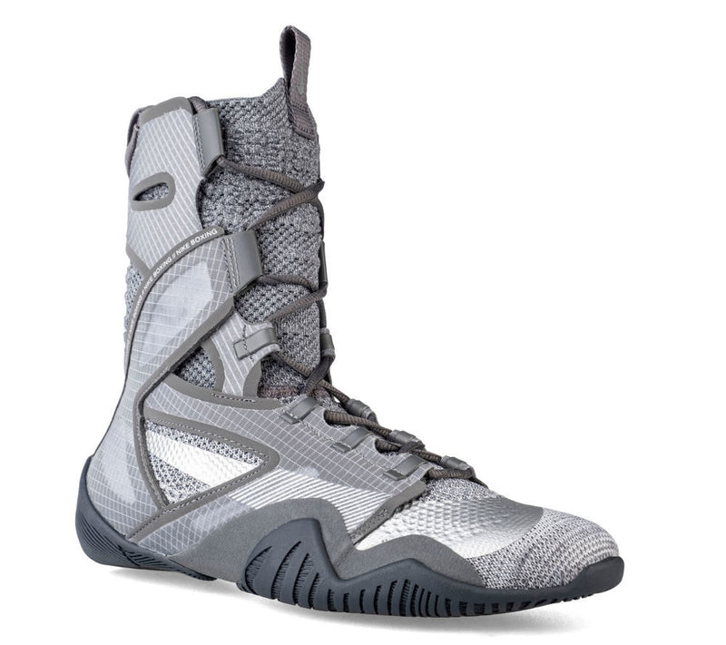 Boxing Shoes Nike HyperKO 2.0 - grey/ metallic silver