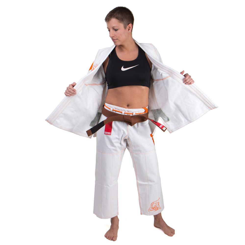 Fighter BJJ Gi Koi Uniform - white
