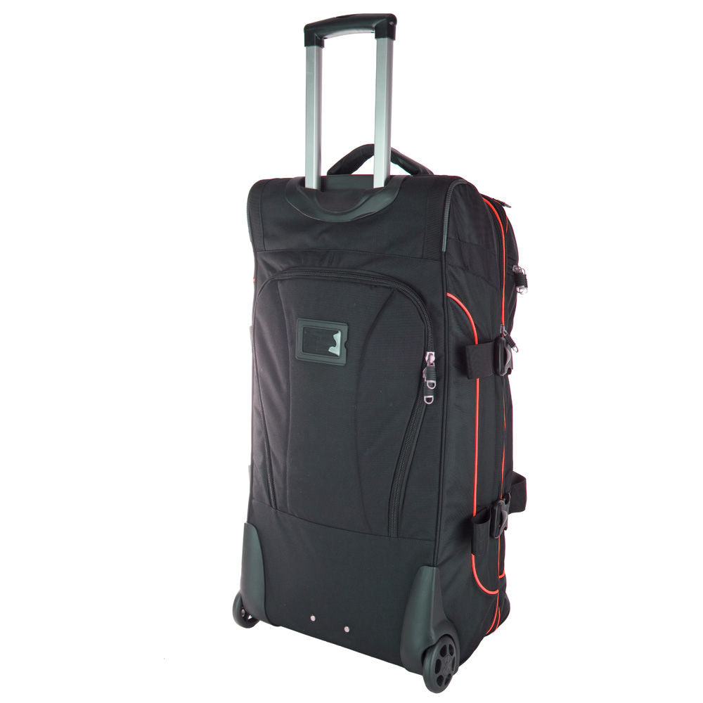 TOP TEN - Tires bag Deluxe Travel - black/red