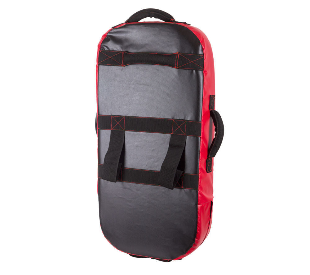 FIGHTER MULTI-GRIP STRAIGHT SHIELD - black/red
