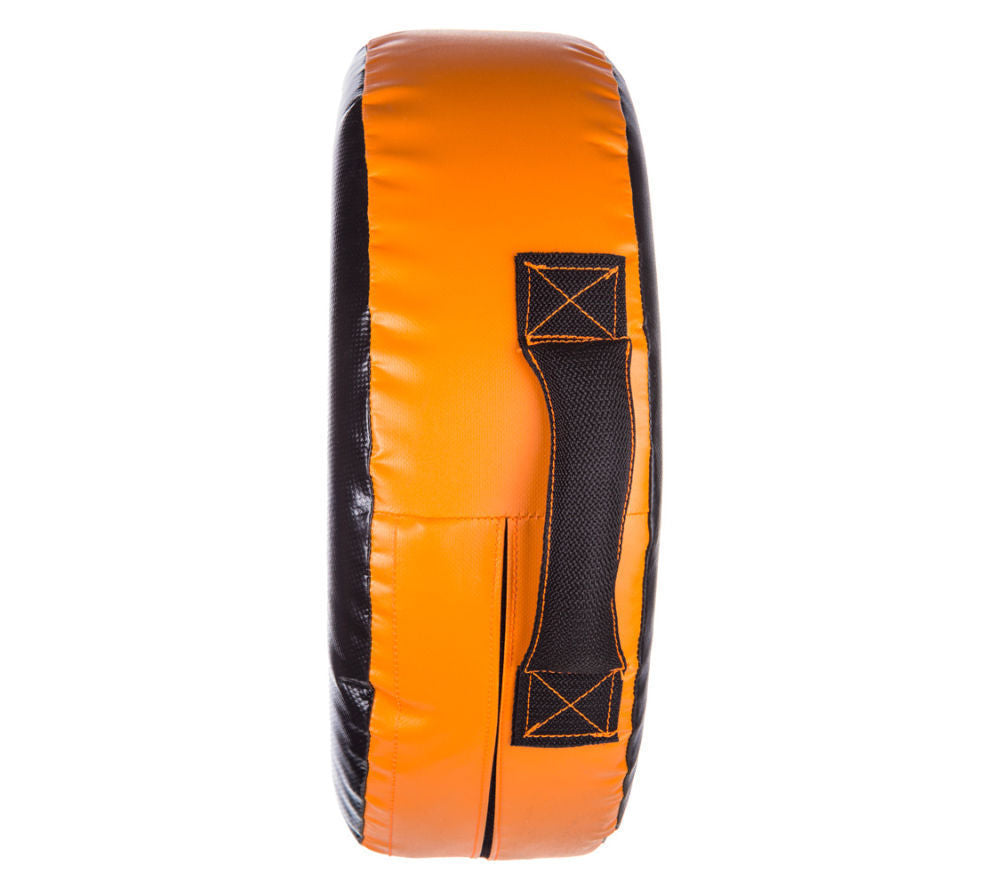 Fighter Large ROUND SHIELD - black/orange