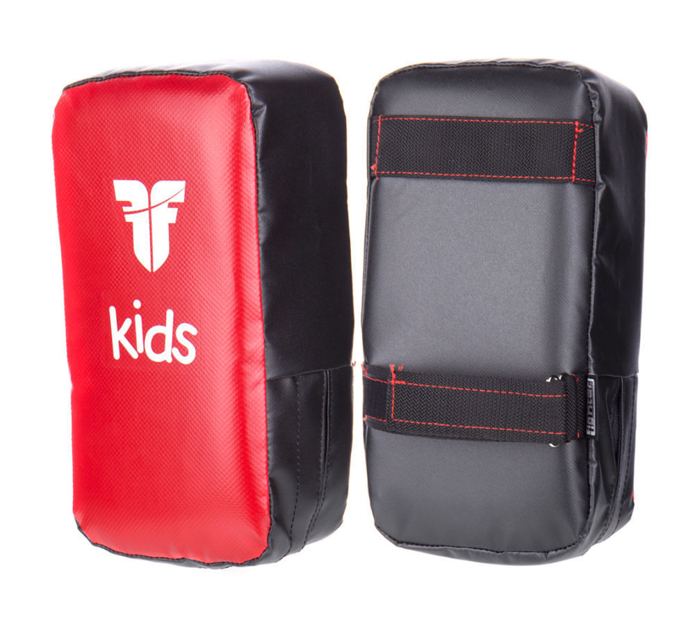 Fighter KIDS KICK PADS - red/black