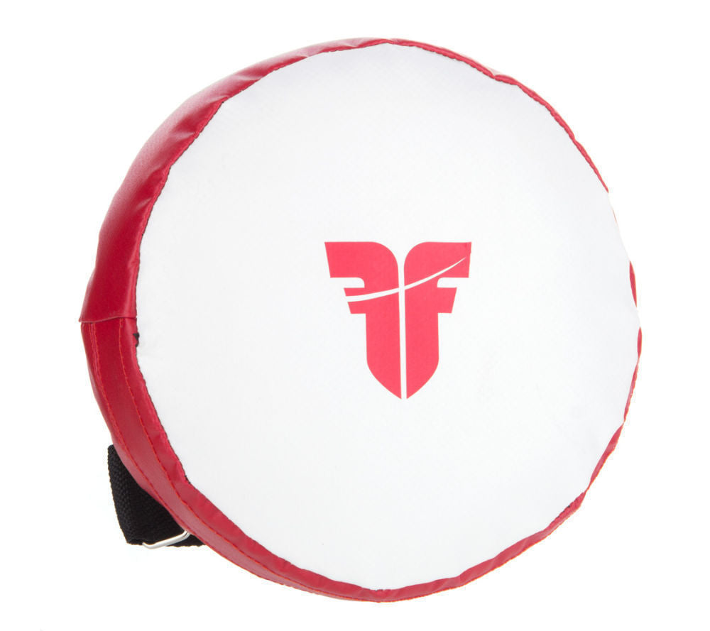 Fighter ROUND TARGET MITTS UNIOR - White/red