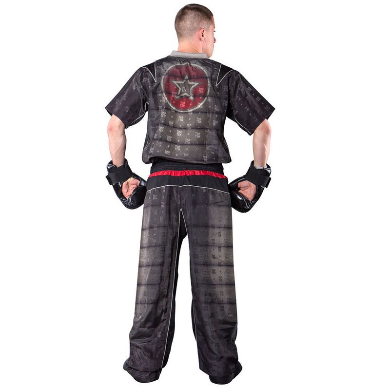 Top Ten SNAKE Energy Fighter uniform - black/red