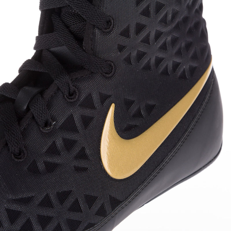 Nike KO Boxing Shoes - black/gold