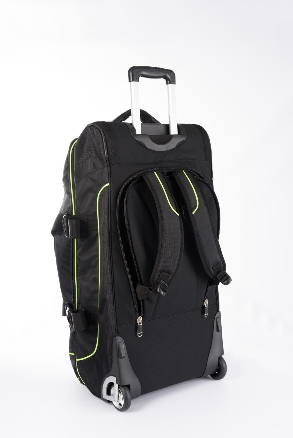 TOP TEN Trolley bag - black/green