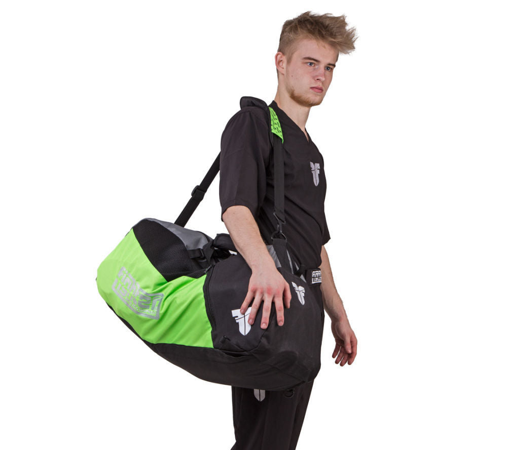 Fighter Sport Bag - neon green/black