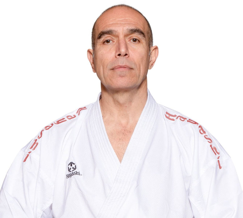 "Hayashi Karate Gi ""Air Deluxe"" - RED Embroidery SPE"