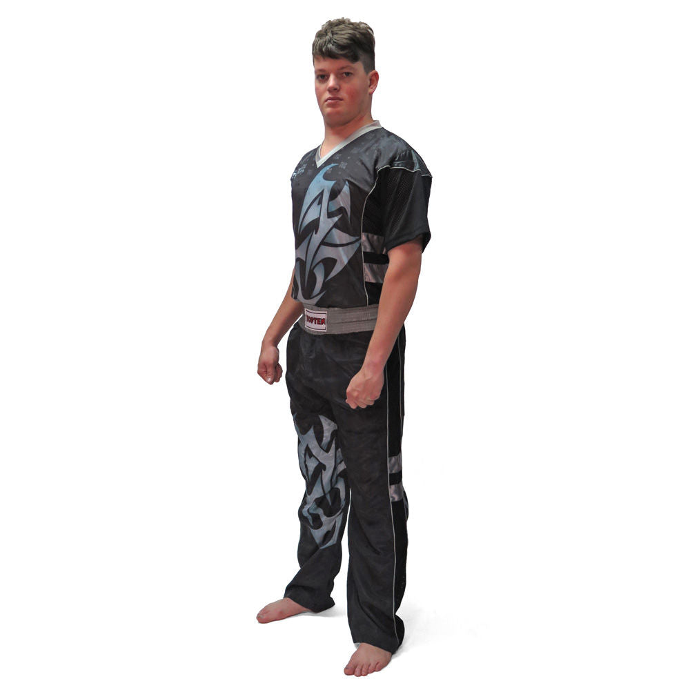 Top Ten TRIBAL Uniform - black/grey