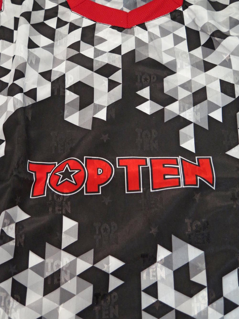 Top Ten PIXEL Energy Fighter uniform - black/red/white