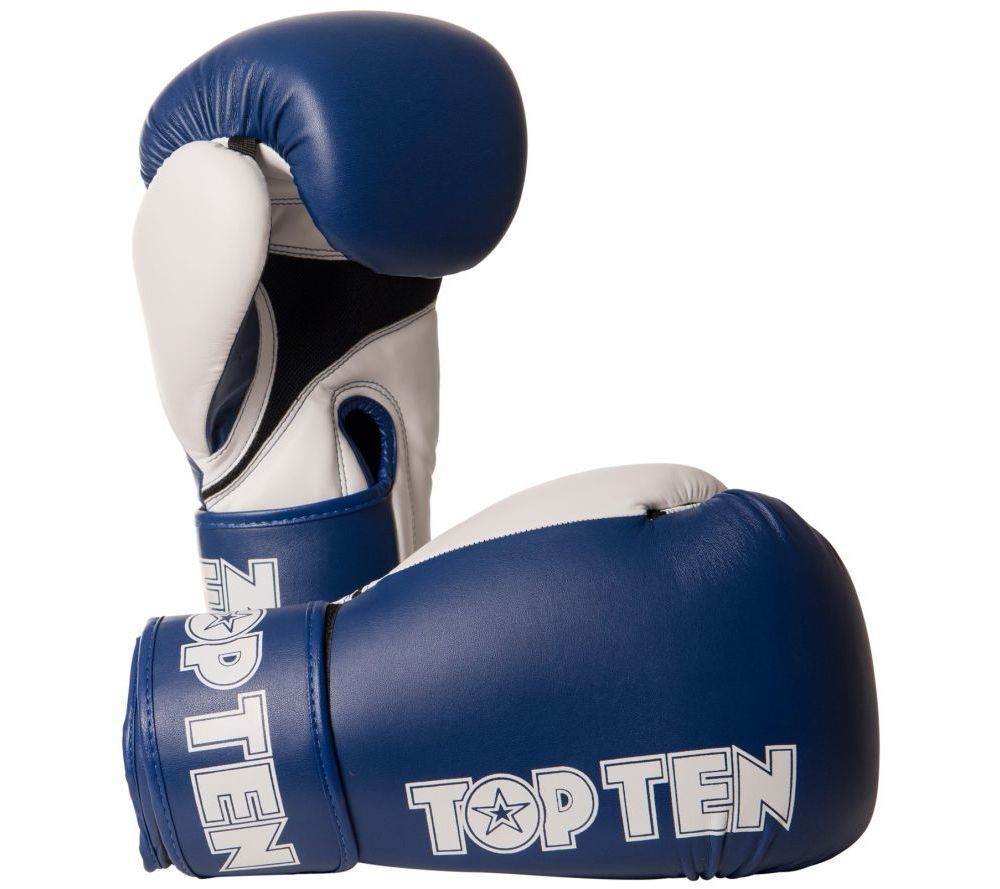 TOP TEN XLP Blue /White Boxing gloves