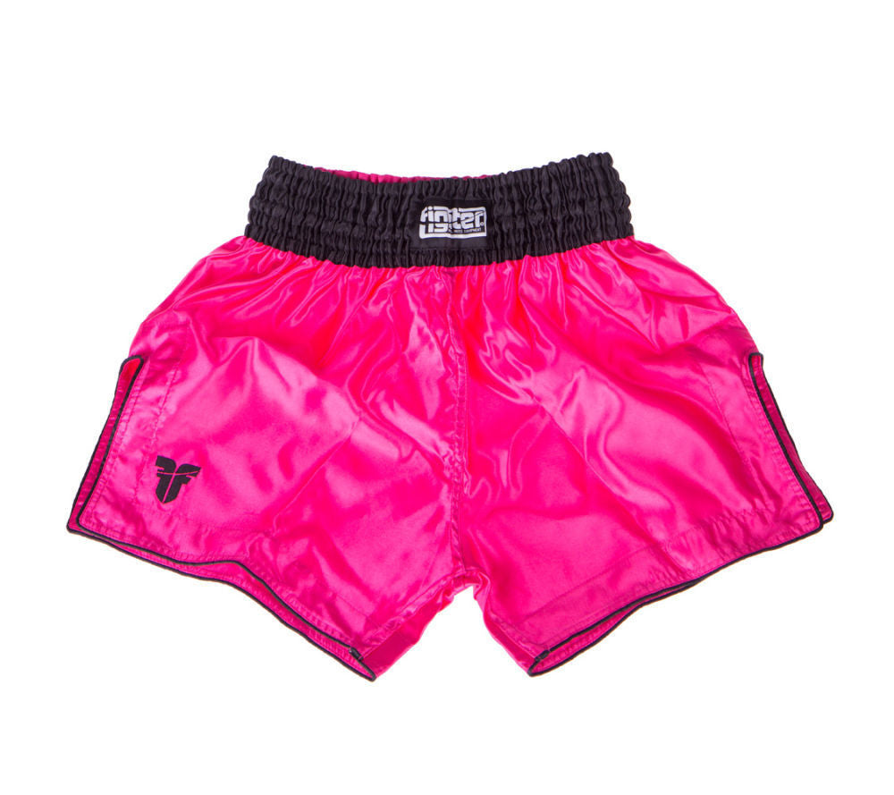 Fighter Thai Shorts Bangkok Plain - pink/black