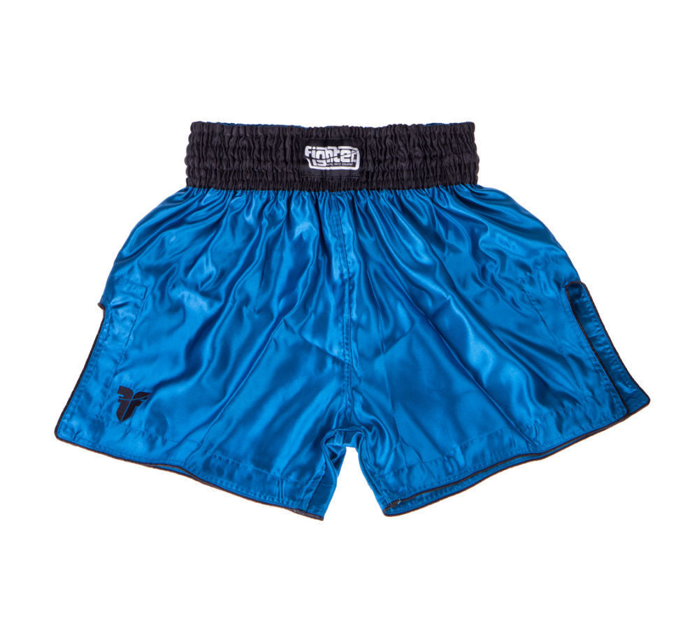 Fighter Thai Shorts Bangkok Plain - blue/black