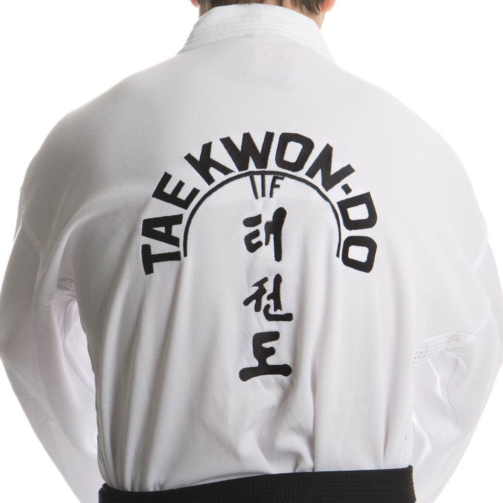 TOP TEN ITF Assistant Instructor Uniform - Mesh 1 - white
