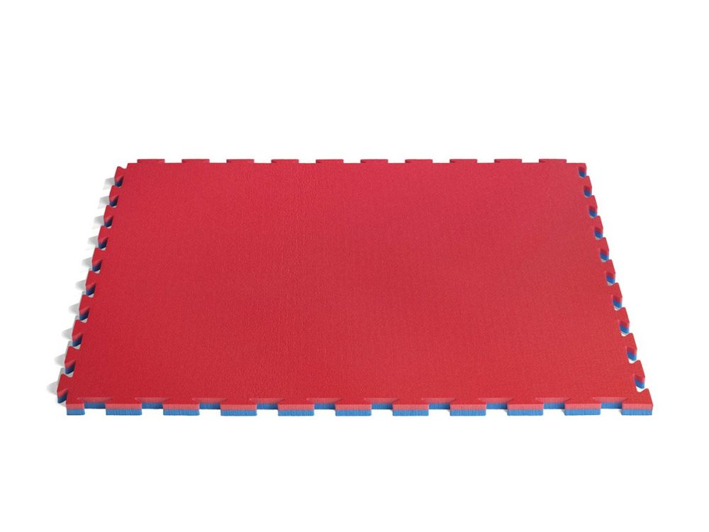 ProGame Multisport Basic Puzzle Mat - blue/red