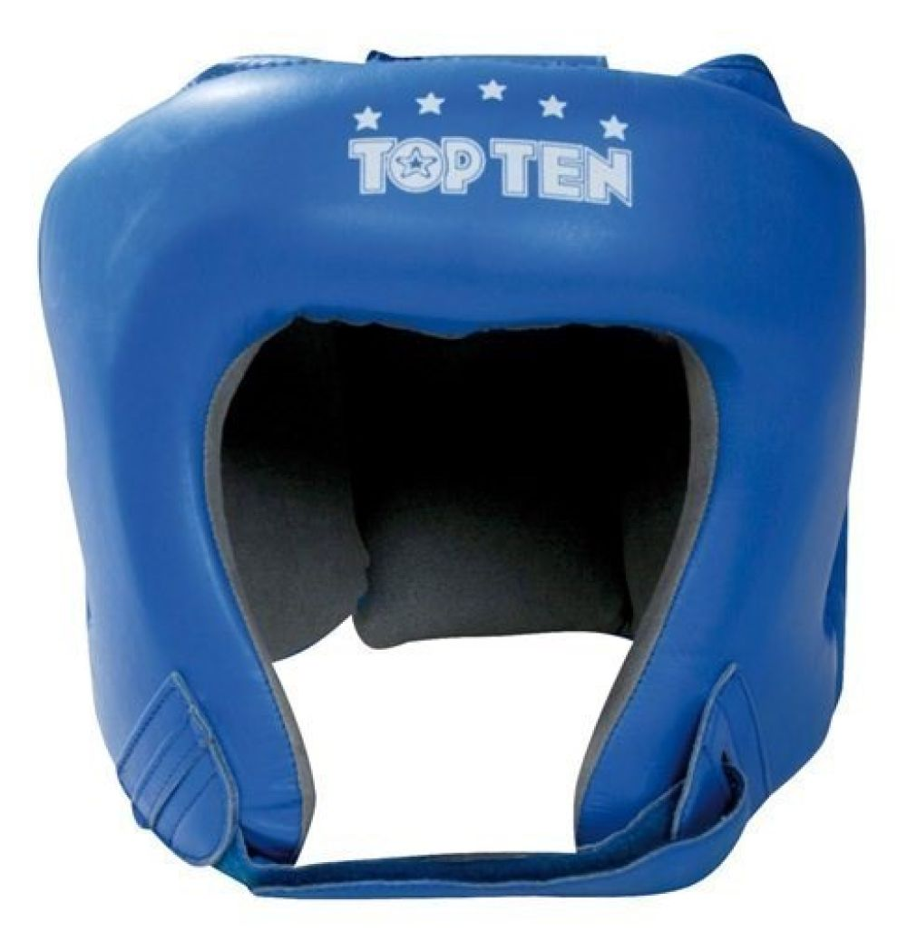 Top Ten Blue AIBA Head Guard