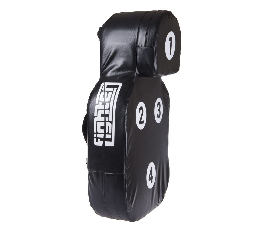 Fighter Body Huge Kicking and Punching Shield