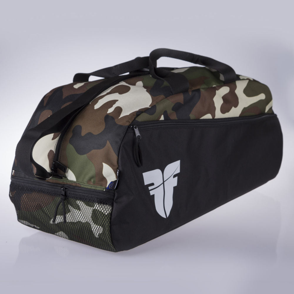 Fighter GYM Sports Bag - camo/black
