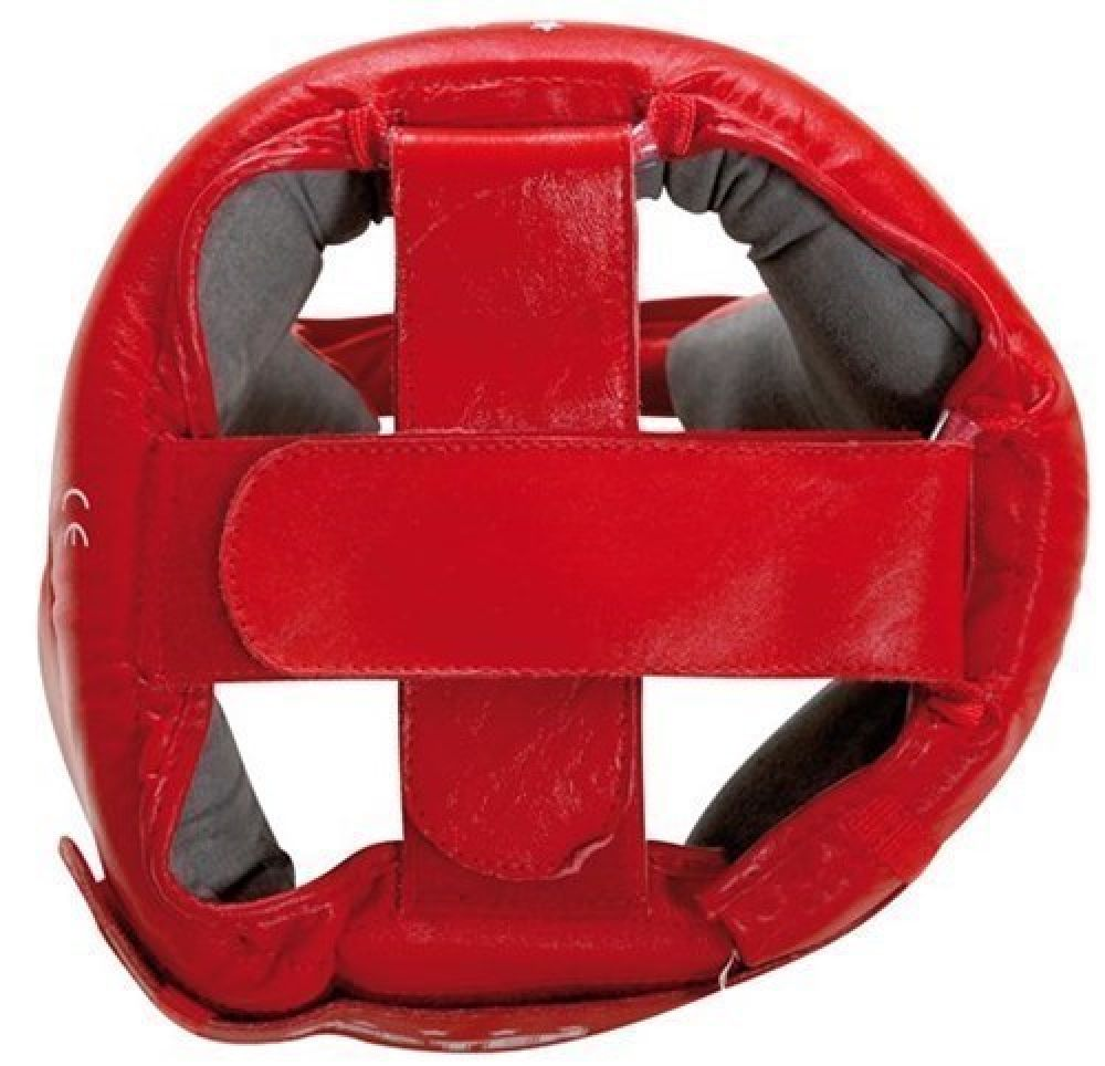 Top Ten Red AIBA Head Guard - red