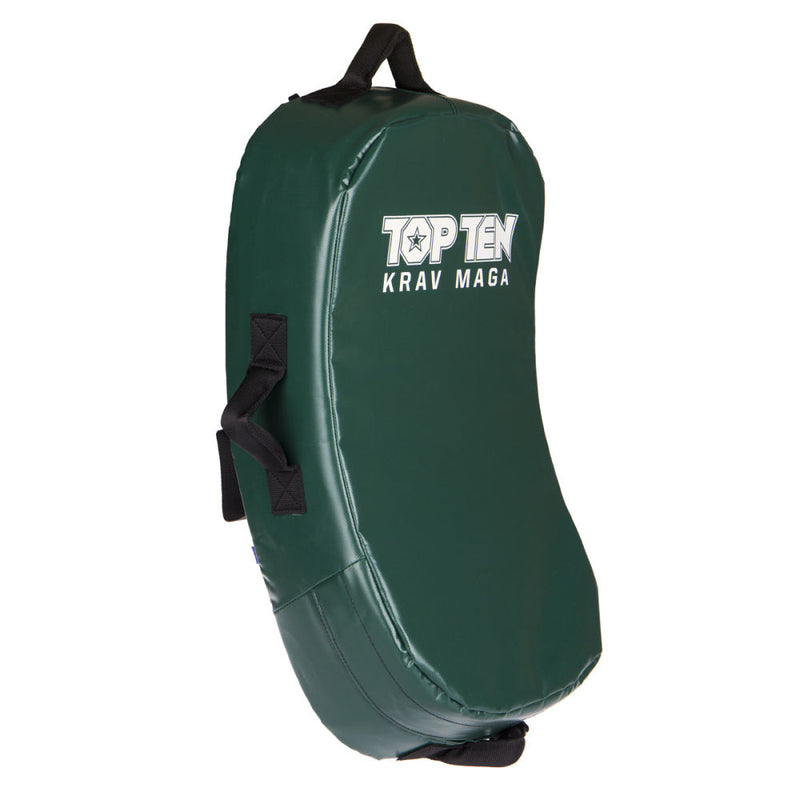 TOP TEN Kicking Shield - MULTI GRIP Krav Maga green/black