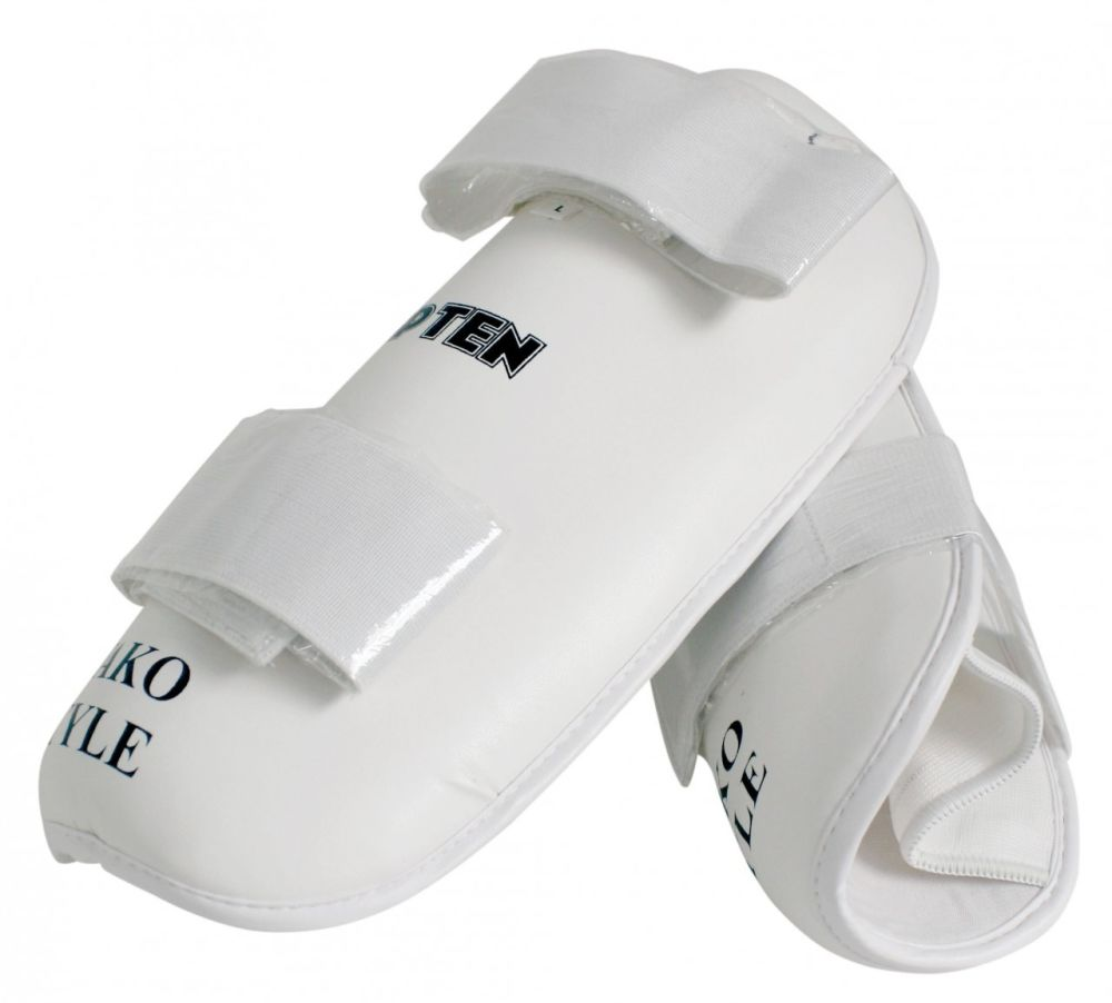 shinpads white