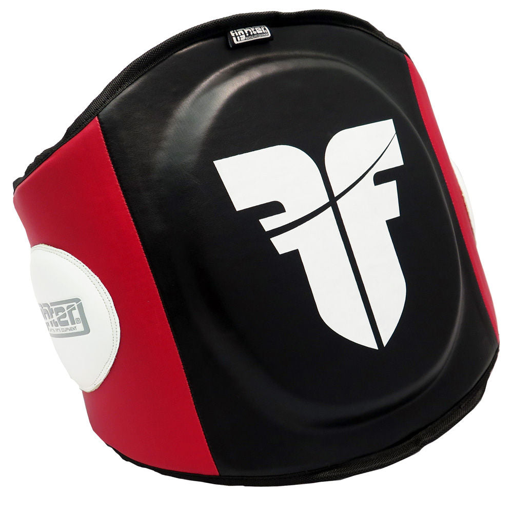 Fighter Belly Protector black/red/white